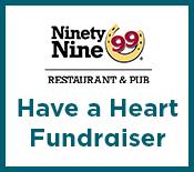 99 Restaurants Have a Heart fundraiser