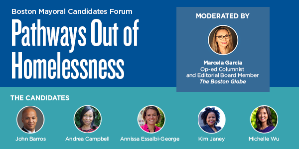 Join for the Mayoral Forum on Homelessness